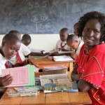Kakenya Ntaiya and her first primary school for girls in Kenya, January 16, 2014