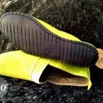 How one very creative guy turned wasted airplane wheels into eco friendly shoes!