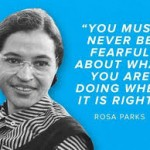 "Rosa Parks ""the first lady of civil rights"" and how she changed the world!"